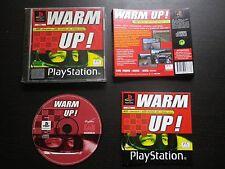 JEU Sony PLAYSTATION PS1 PS2 : WARM UP ! (courses auto COMPLET envoi suivi)