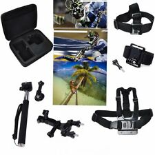 7in1 Kit Tasche Brustgurt Kopfband Handschlaufe Für Kamera GoPro Hero 2 3 SJ5000
