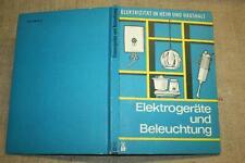 Fachbuch DDR-Beleuchtung, Elektrogeräte, Küchengeräte, Hausgeräte, DDR 1975