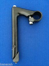Retro Vorbau 1 Zoll 22,2 mm Ø für Rennrad Singelspeed in Schwarz