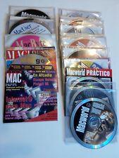 21 x CD-ROM software Macworld y otros