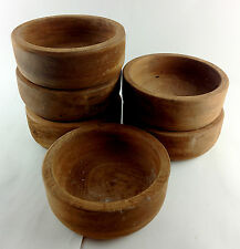 Large mahogany bowl, holds one pint,  Medieval reenactment, LARP,