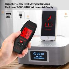 Electromagnetic Radiation Tester Emf Meter Electric Magnetic Field Detector J6c7
