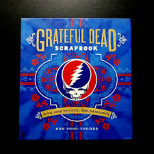 Grateful Dead Scrapbook Book 2009 CD Audio Removable GD Art Memorabilia WALSTIB