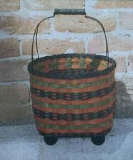 Basket Weaving Pattern Fall Treats Basket by Julie Kleinrath