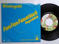 """Rheingold / Fan Fan Fanatisch 7"""" Vinyl Single 1981 mit Schutzhülle"""