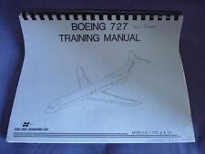 Boeing B-727 Aircraft Electrical System Mod 1 ATA 6 & 24 Howard Training Manual
