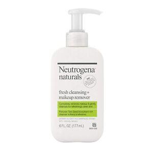 Neutrogena Naturals Fresh Face Cleanser + Makeup Remover, 6 fl. oz (177 mL)