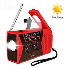 Wind Up Solar Radio Hand Crank Dynamo AM/FM/NOAA Weather Radios...