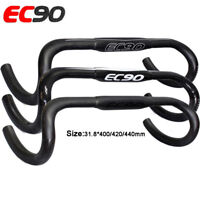 EC90 Bicycle Drop Bar Cycling 3K Carbon Road Bike Handlebar 31.8*400/420/440mm
