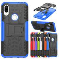 For Xiaomi Redmi 7 GO/Note 7 6 Pro Shockproof Hybrid Armor Kickstand Case Cover