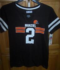 6caa652bb Cleveland Browns NFL Player  2 MANZIEL V-Neck T-Shirt Womens XL XTRA