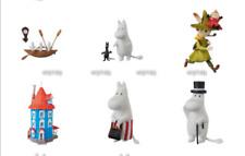 Moomin Family & House Figure Ultra Detail Figure series 3, 6pcs - Medicom   ==