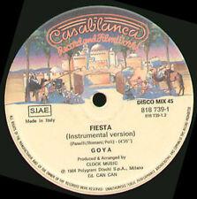 GOYA - Fiesta - casablanca