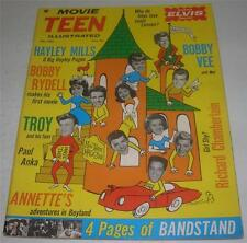 MOVIE TEEN ILLUSTRATED (Vol 5) #1 (DEC 1962) HAYLEY MILLS! ELVIS PRESLEY (FN)