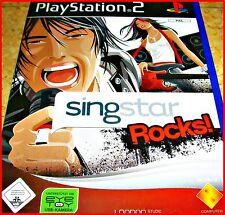 PS2 SINGSTAR ROCKS *30 KARAOKE ROCK GIGANTEN ZUM MITSINGEN*