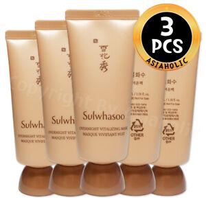 Sulwhasoo Overnight Vitalizing Mask 35ml x 3pcs (105ml) Sample Newist Version