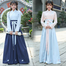 Girls Chinese Ancient Corset Hanfu Ruqun Usual Skirt Embroider Classical Costume