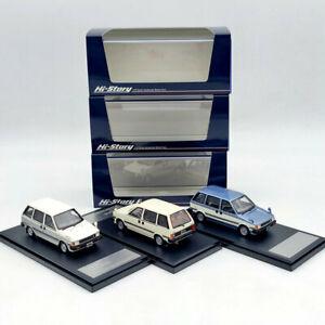 1/43 Hi-Story Nissan Prairie JW-G 1982 HS294 Resin Model Car Limited Collection