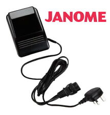 JANOME GENUINE RETRACTABLE LEAD CORD CABLE SEWING MACHINE FOOT CONTROL PEDAL