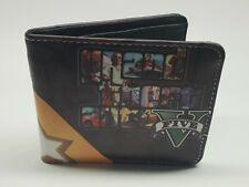 GTA V Bi-Fold Wallet PU Leatherr Playstation Xbox Grand theft auto 5 Rockstar