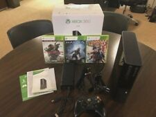 XBOX 360 4GB  Model 1538 Gaming Console w/Controller and 3 games
