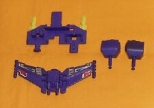 original G1 Transformers DEVASTATOR PARTS WEAPONS LOT #128 r+l fist chest shield