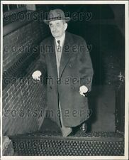 1950 Fels-Naptha Soap Co President Samuel Fels Age 90 Smoking Cigar Press Photo