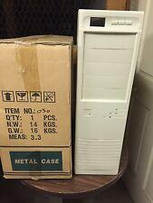 Build Custom AT Computer IBM PC Enclosure Case Pentium 386 486 Vintage Tower New