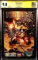 MARVEL Comics THANOS RISING #1 CGC SS 9.8 Mark Brooks Variant AVENGERS ENDGAME