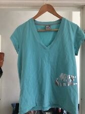 Nike Size XL Blue V Neck T-shirt Top