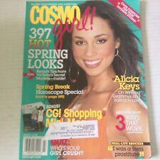Cosmo Girl! Magazine Alicia Keys Hot Spring Looks March 2006 051717nonrh