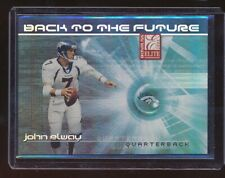 2002 Donruss Elite John Elway Back to the Future 566/800