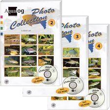 3er Set Aqualog: Photo Collection Salmler 1, 2 , 3 (3x Buch + CD-ROM, OVP-Folie)