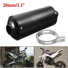 28mm Exhaust Pipe Muffler Clamp 50cc 110cc 125cc 4 Stroke Quad Dirt Pit Bike ATV