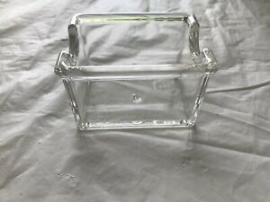 24  CLEAR PLASTIC SUGAR PACKET HOLDER CADDY
