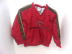 TAMPA BAY BUCCANEERS NFL PULLOVER JACKET -YOUTH SIZE SMALL (8) ***EUC***