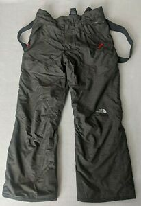 The North Face Dryvent Kids Boys Youth 14 16 L Large Snow/ Ski Pants  Gray