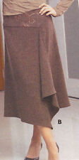 UNDERCOVER WEAR ~ BROWN IDA SKIRT~SIZE 10 RRP$65.00
