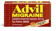 Advil Migraine 200 mg Liquid Filled Capsules 80 Count