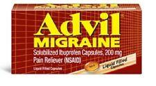 Advil Migraine 200 mg Liquid Filled Capsules 80 Count