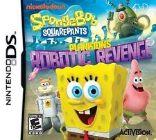 Nintendo DS SpongeBob SquarePants: Plankton's Robotic Revenge-1st Class Delivery