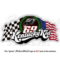 NICKY HAYDEN 69 Kentucky Kid MotoGP Racing 100mm Sticker Autocollant Adesivo