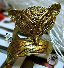 Jewelry Retro Little Cute Fox Ring