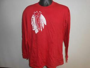 New-Minor Flaw Chicago Blackhawks Youth XL(18) XLarge Shirt by CCM