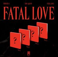 MONSTA X - Album Vol.3 [FATAL LOVE] (Ver.1 + Ver.2 + Ver.3 + Ver.4) 4 CD set