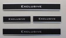 Einstiegsleisten para mercedes V-clase 447 ab.2014 - carbon aluminio con bisel EXC
