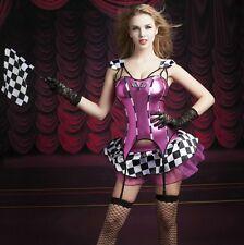 Quality Designer Formula 1 Racing Show Girl Costume Dress Jumpsuit Fancy Dress