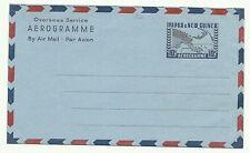 PAPUA NEW GUINEA / PNG:  Aerogramme(+Overseas serv) 10d. Map-  /1962 / mint
