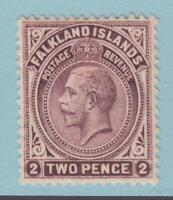 FALKLAND ISLANDS 43 MINT HINGED OG *  NO FAULTS EXTRA FINE !